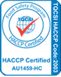 HACCP Accredited